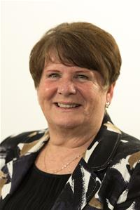 County Councillor Marge Harvey